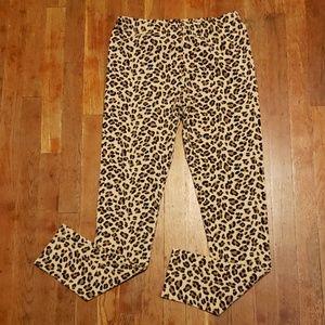 Circo girl's cheetah print leggings
